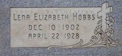 Lena Elizabeth Hobbs