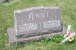 Ordena Elsie <i>Schley</i> Abbe