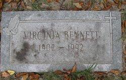 Virginia <i>Chaplin</i> Bennett