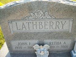 Retha Alberta <i>Anderson</i> Lathberry