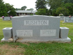 Susan Sarah <i>Pruitt</i> Rushton