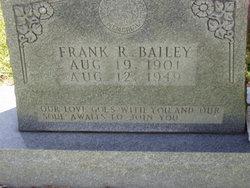 Frank R Bailey