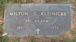 Milton G. Kleinicke