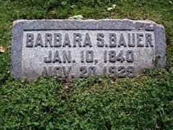 Maria Barbara <i>Schwarz</i> Bauer