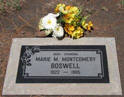 Marie Mae <i>Kinkade</i> Boswell