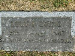 Lulu Florence <i>Waggoner</i> Ewing