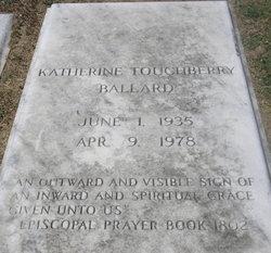 Katharine <i>Touchberry</i> Ballard