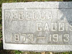 Rebecca Lena <i>Huff</i> Gaddis