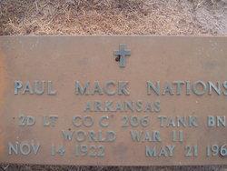 Paul Mack Nations