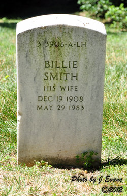 Billie <i>Smith</i> Calais
