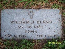 William T Bland