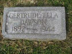 Gertrude Ella Dawson