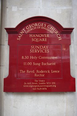 St George Hanover Square Church