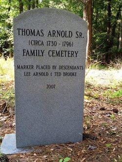 Thomas Arnold, Sr