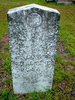 Pvt William Jackson Amason