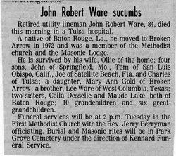 John Robert Ware