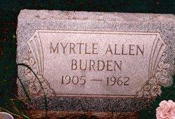 Myrtle Allen Burden