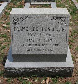 Frank Lee Haislip, Jr