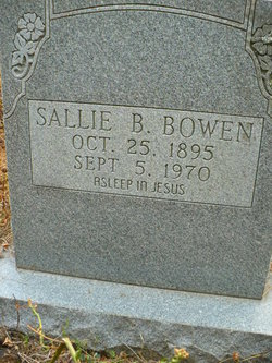 Sally <i>Todd</i> Bowen