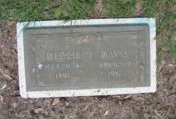 Dezzie M <i>Johnston</i> Davis