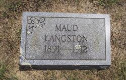 Maud Langston