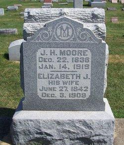 Elizabeth J <i>Lewis</i> Moore