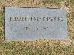Elizabeth Louise <i>Key</i> Chewning