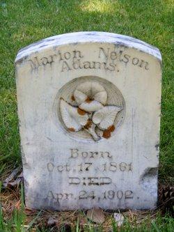 Marion <i>Nelson</i> Adams