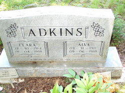 Clara <i>McKinney</i> Adkins