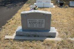 Henrietta L <i>Ruger</i> Ashford