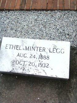Ethel <i>Minter</i> Legg