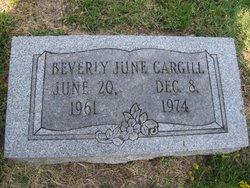 Beverly June Cargill