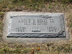 Archie E. Berry, Sr.