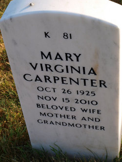 Mary Virginia <i>Becknell</i> Carpenter