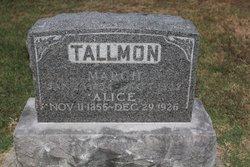 Alice <i>Clendenan</i> Tallman