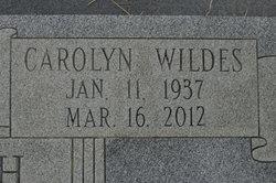 Carolyn Smith <i>Wildes</i> Boyett