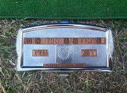 John Thomas Tom Brower