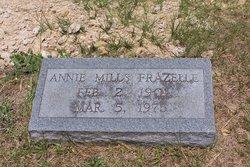 Annie L <i>Mills</i> Frazelle