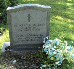 Nicholas Robert Bubba Detrino, Jr