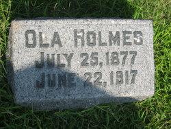 Mary Ola <i>Jones</i> Holmes