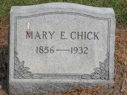 Mary E Chick