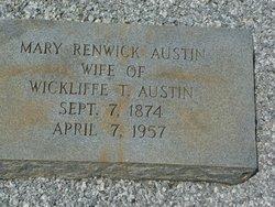 Mary <i>Renwick</i> Austin