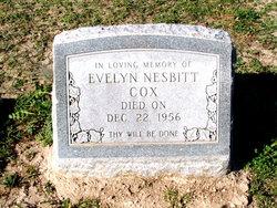 Evelyn <i>Nesbitt</i> Cox