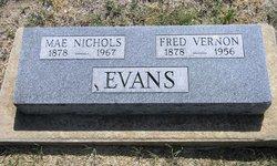 Effie Mae <i>Nichols</i> Evans