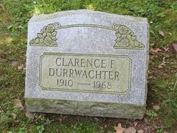 Clarence F Durrwachter