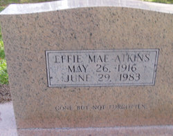 Effie Mae Atkins
