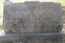 Mary <i>Sowells</i> Welch