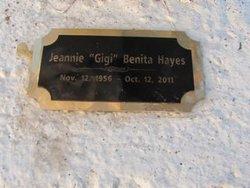 Jeannie Gigi <i>Benita</i> Hayes