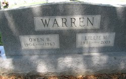 Lilly Mae <i>Berger</i> Warren