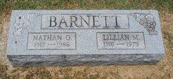 Lillian M Ida <i>Hagene</i> Barnett